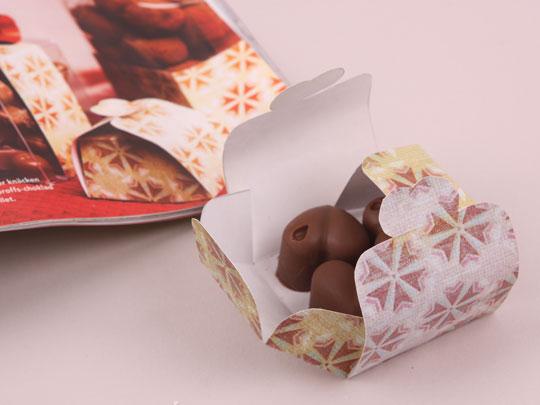 choklad som present